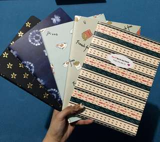 4 NOTEBOOKS + 1 FREE (Lined)