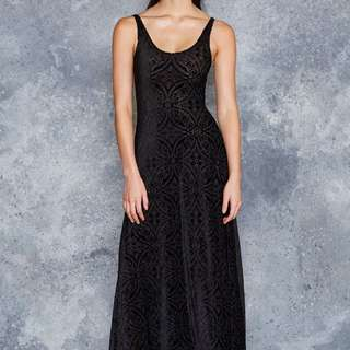 Black Milk Burned Velvet Maxi L