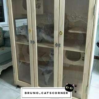 Cat House/Cabin/Cabinet/Condo