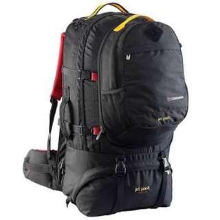 BNWT Caribee rucksack backpack jet pack 75L total