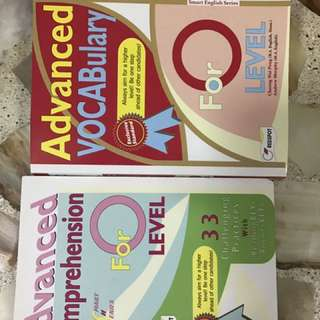 *highly recommended O lvl comprehension and vocabulary practice