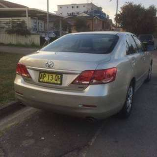 2007 Toyota Aurion 205 km rego one months . Full service . One owner. Log book . Air condition .cheep modern car. Call or massage  0403793084