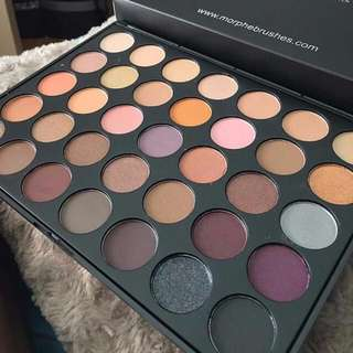 Morphe Brushes 35W Warm Palette BRAND NEW & AUTHENTIC (NO OFFERS)