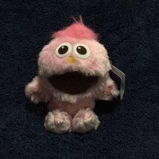 🚚 日本環球影城限定粉紅moopy坐姿小吊飾