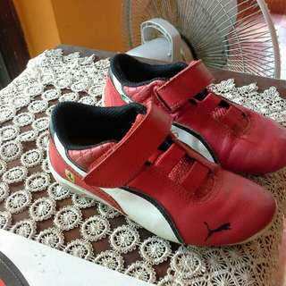 PUMA SHOES FOR 5-6YRS OLD
