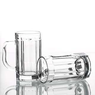 Glass beer tea mug Christmas gift giveaway