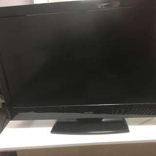 "Sanyo 22"" inch flat screen TV"