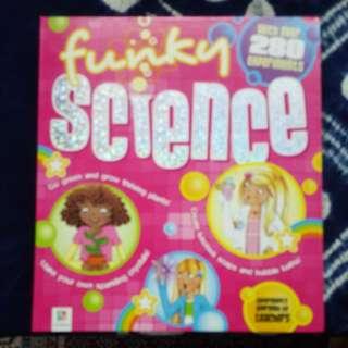 Unused Science Experiment Book Price Reduced