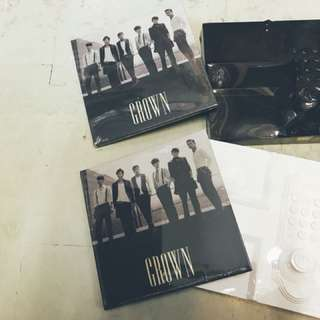 2PM NO.5 DAY VER.(WHITE) NIGHT VER.(BLACK)+GROWN送雜誌