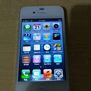 iphone 4s非常新浄! 有叉電線,可要iphone 4盒