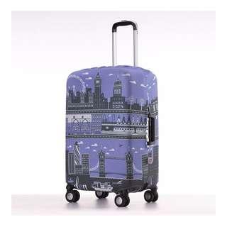 Little Chili Kingdom Luggage Cover (Large)