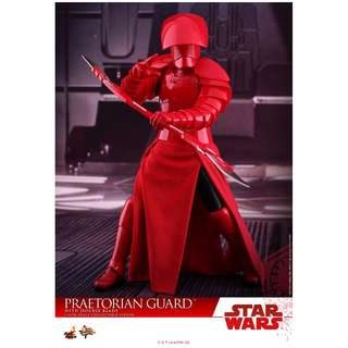 PO: Hot Toys – MMS454 – Star Wars: The Last Jedi – 1/6 scale Praetorian Guard (With Double Blade)