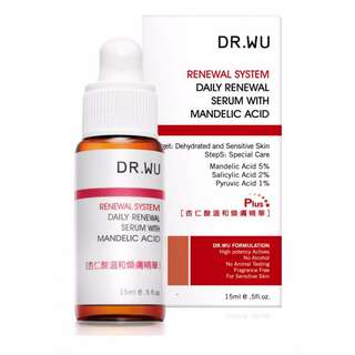 DR. WU Daily Renewal Serum With Mandelic Acid 15ml