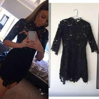 Live Black Lace Dress