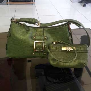Authentic NY&Co. Shoulder bag and Wrislet