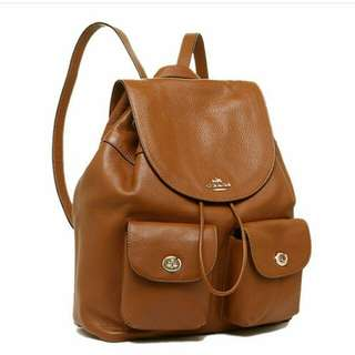 Coach billie backpack