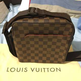 Louis Vuitton Olav Pm in damier ebene