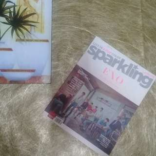 """Sparkling Magazine: Spring 2016 Issue """"EXO & BEAST Cover"""""""
