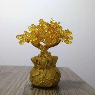 風水物品: 水晶招財搖錢樹 (家居擺設 工藝品) Feng Shui Tree (craft)