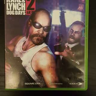 Kane & Lynch - Dog days XBOX 360