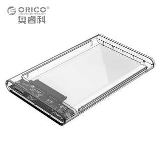 ORICO  2139U3 2.5 inch Transparent USB3.0 to Sata 3.0 HDD Case Tool Free 5 Gbps