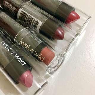 包郵 全新 wet & wild 唇膏 lipstick