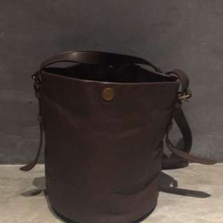 Leather Madewell Bucket Bag