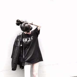 🚚 A.room 韓國VOGUE短袖長板T恤