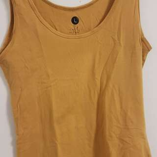 Size L/XL Sleeveless Tank Tops