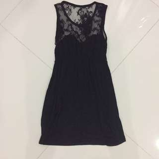 Black Lace Dress #semuarm5