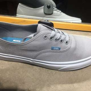Vans Authentic Grey (NEW!) with box & paper bag