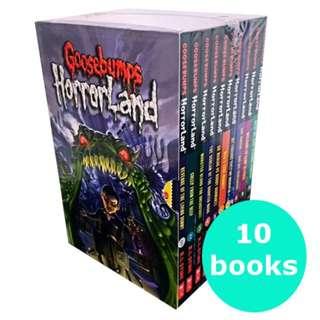 Goosebumps Horrorland Set (10 books)