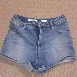 Wrangler highwaisted shorts