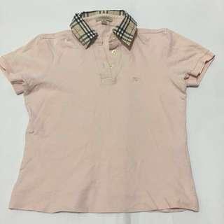 Original- Burberry polo shirt- women's