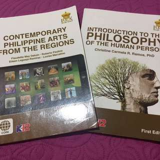 Introduction To The Philosophy Of Human Person & Contemporary Phil. Arts From The Regions