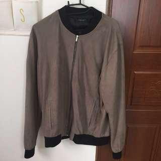 🚚 Zara麂皮絨布外套