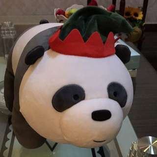 Christmas edition We bare bears stuff toy