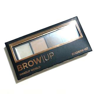 Makeup World Brow Up brow kit