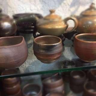 🚚 陶瓷茶杯茶壺(柴燒)