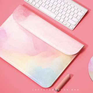 Abstract Pastel All Over Macbook Laptop Sleeve