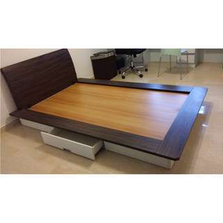 Super Single Platform Bed frame