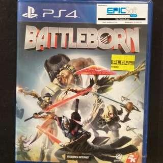 New/Sealed PS4 Battleborn