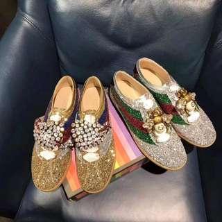 Designer brand with glitters