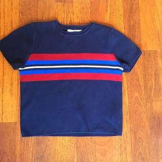 warm cropped t-shirt