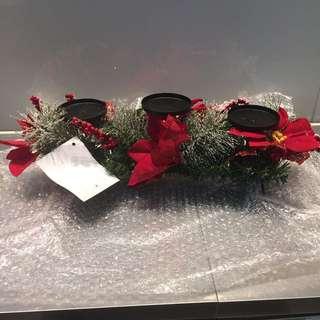 ⏰🎄裝飾品-蠟燭座/聖誕鐘
