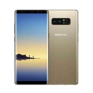 Samsung Note 8 - Gold