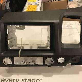 Honda Civic FD double din radio casing