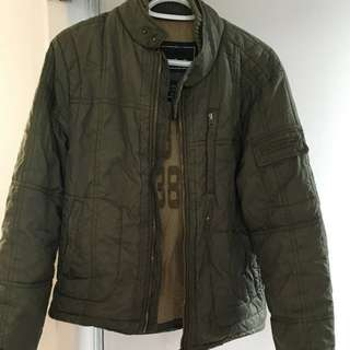 Bomber bubble winter jacket