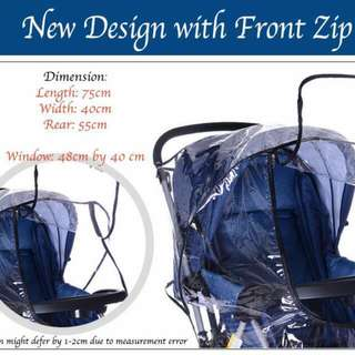 It Has Been Raining Everyday!  Best RainCover your child can have.