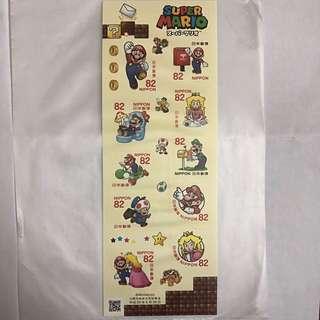 2017 Super Mario 超級瑪莉奧 郵票 10枚